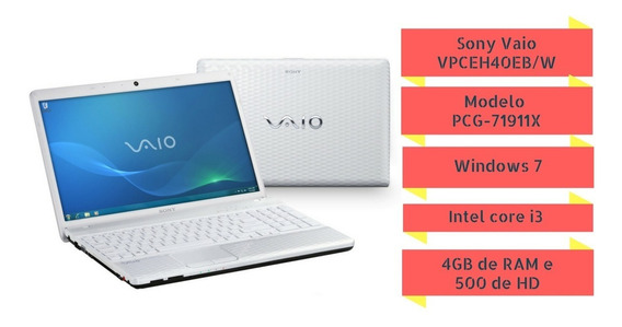 Sony Vaio Vpceh40eb/w 15,5