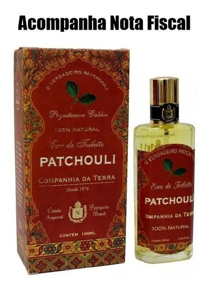 Perfume Patchouli Eau 100ml Companhia Da Terra - Lacrado!