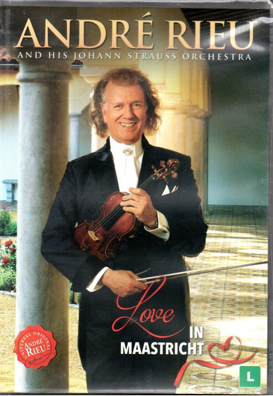 Dvd André Rieu And His Johann Strauss - Love In Maastricht