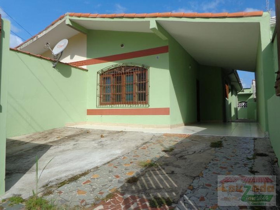 Casa Para Locação Em Peruíbe, Jardim Ribamar, 2 Dormitórios, 1 Banheiro, 3 Vagas - 0700