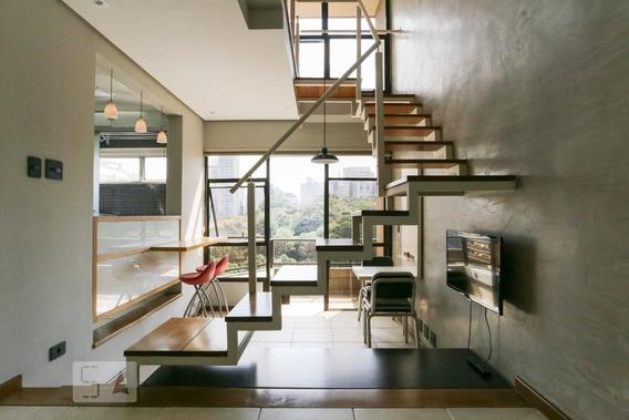 Apartamento No 6º Andar Com 1 Dormitório E 1 Garagem - Id: 892951078 - 251078