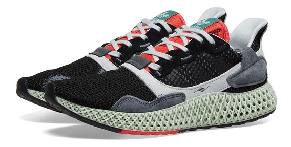 Tenis Adidaz Zx 4000 4d Carbon Casual Yeezy Nmd Boost