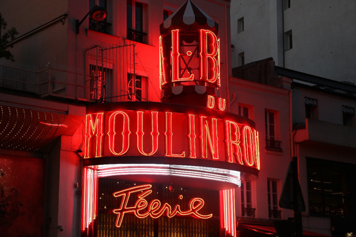 Cuadro 21-moulin-rouge-paris-8  32x20  C/marco De Madera