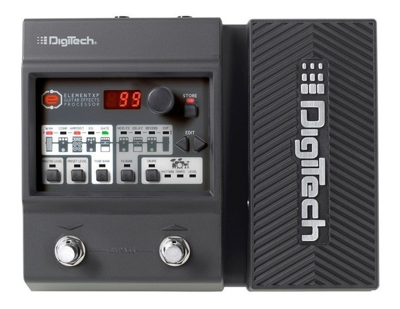 Pedaleira Digitech Element Xp P\ Guitarra Com Fonte Original