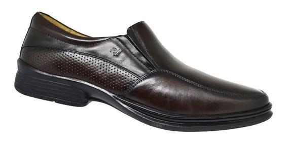 Sapato Social Tamanho Especial - Rafarillo Marrom