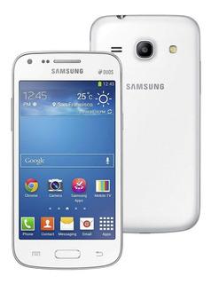 Smartphone Samsung Galaxy Core Plus Com Tela 4.3 , Dual Chip, Câmera De 5mp, Android 4.3 Vitrine