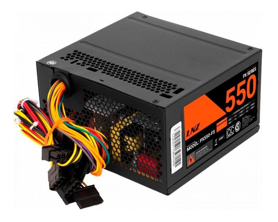 Fuente Sentey Lnz Px 550w Pc Atx 80mm Fan Cooler !