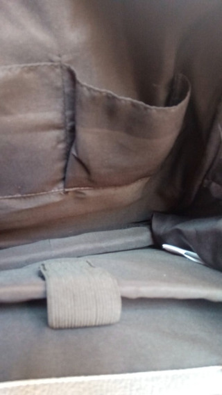 Mochila Porta Lap Top Plateada Back Pack Para Dama