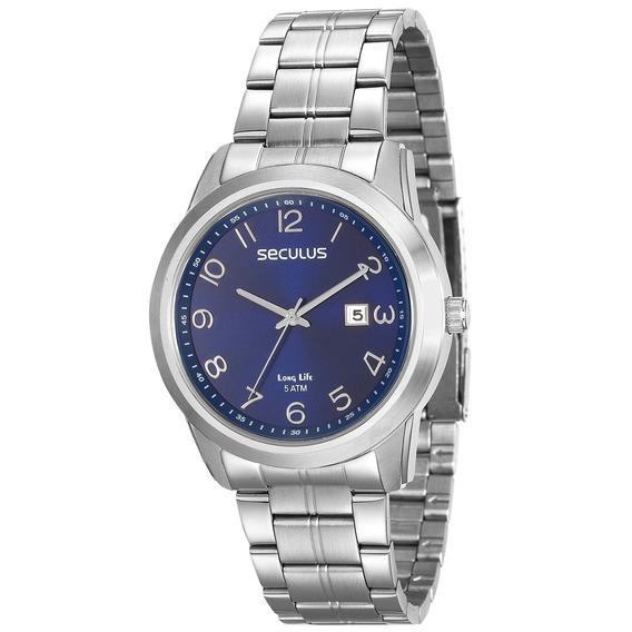 Relógio Seculus Masculino 20582g0svna1
