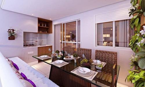 Imagem 1 de 21 de Apartamento Com 2 Dormitórios À Venda, 91 M² Por R$ 620.000,00 - Parque Das Nações - Santo André/sp - Ap11840
