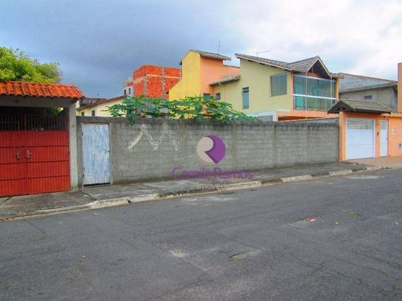 Terreno Residencial Para Locação, Jardim Quaresmeira, Suzano. - Te0089