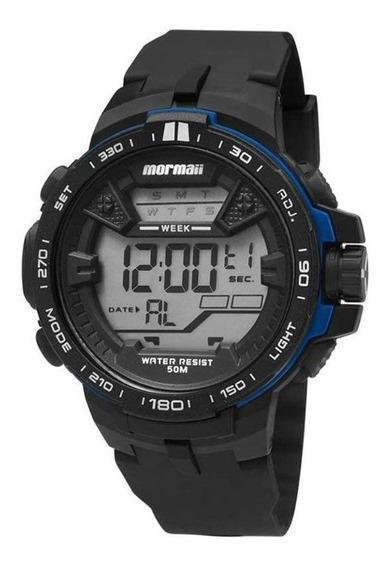 Relógio Mormaii Masculino Acqua Preto Mo33908a
