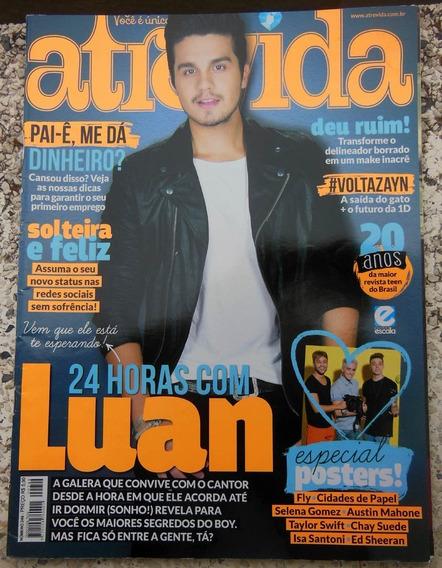 Revista Atrevida Nº 249 - Luan Santana Ariana Grande
