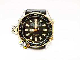 Relógio Atlantis A3220 Aqualand Jp2000 Citizen Serie Ouro Pr