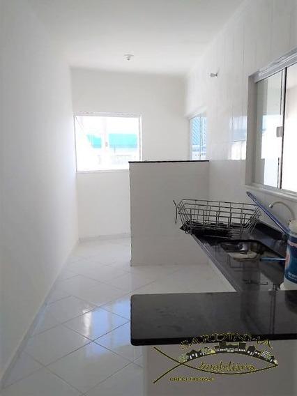 Casa Á Venda - 110m² Com 2 Dormitórios, 1 Suíte, Lavanderia E 2 Vagas De Garagem - Jd. Vila Roman - Peruíbe - Sp - Ml1074