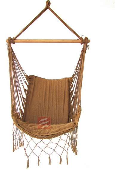 Rede Cadeira Balanco Descanso Teto Poltrona Suspensa