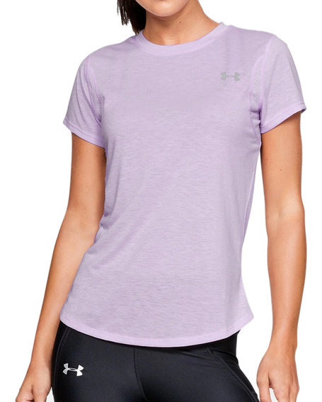 Remera Under Armour Running Ua Streaker 2.0 Mujer Li