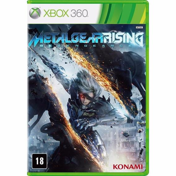 Jogo Game Metal Gear Rising - Xbox 360/ Mídia Física