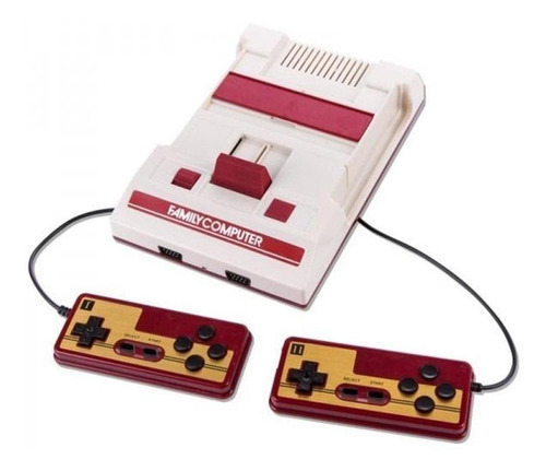 Consola HBL Tech Family Game Classic  color blanco y rojo