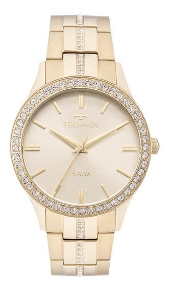 Relógio Feminino Technos Elegance Crystal 2035mmk/4x Dourado