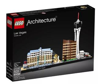 Lego 21047 Las Vegas Architecture Nuevo Con Envío Gratis