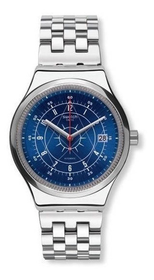 Relógio Swatch Sistem Boreal Yis401g Aço Prata Original