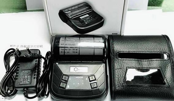 Mini Impressora Portátil Bluetooth Térmica 80mm Android