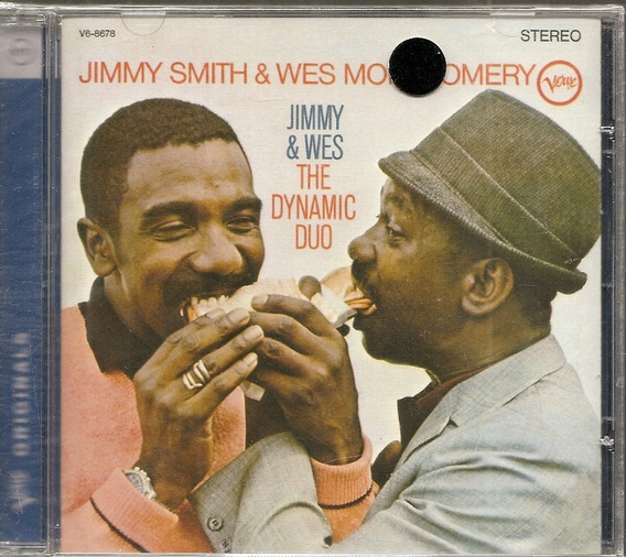 Cd Jimmy Smith & Wes Montgomery - Jimmy & Wes The Dynamic
