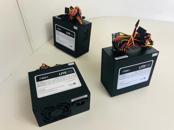 Kit Com 3 Fontes Nox Lite010 500w 220v