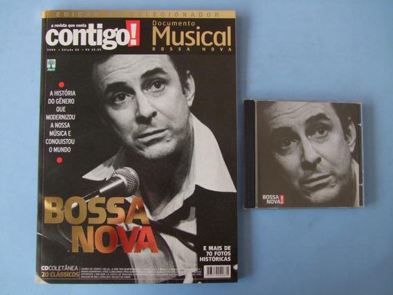 Revista Contigo Documento Musical Bossa Nova (com Cd)