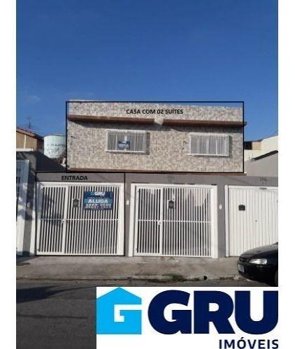Excelente Casa Novinha Localizado No Jardim Vila Galvão - Cat267