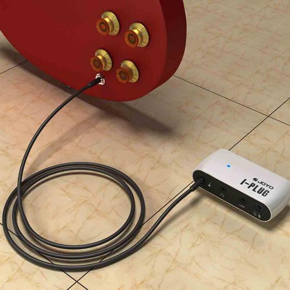 Mini Amplificardor Para Fone De Ouvido Joyo - Uso Em Guitarra - Baixo - Vem Com Distorção
