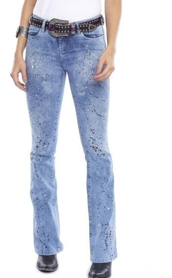 Calça Feminina Tassa Jeans Bordada Promoção