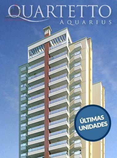 Apartamento À Venda, 120 M² Por R$ 799.000,00 - Jardim Aquarius - São José Dos Campos/sp - Ap2791