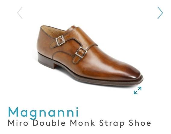 Zapatos De Lujo Magnanni Ferragamo Diseñador