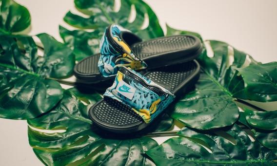 Sandalias Nike Benassi Jdi Fanny Pack Slides Originales