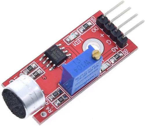 Modulo Sensor De Sonido Microfono Ajustable Arduino Pic