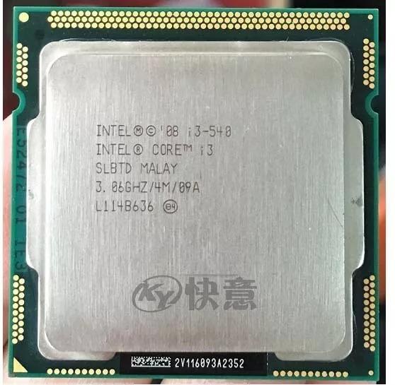 Processador Intel Core I3 540 Lga 1156 - 3.06 Ghz