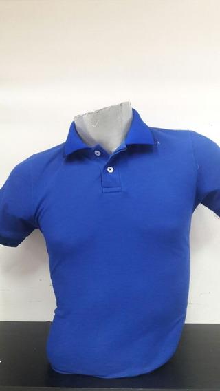 Playera Polo Para Caballero Color Azul
