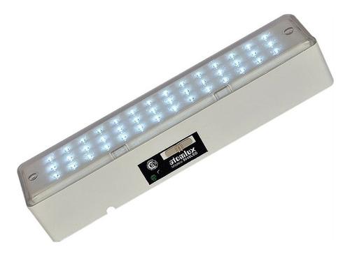 Imagen 1 de 1 de Luz de emergencia Atomlux 2045LED con batería recargable 220V blanca