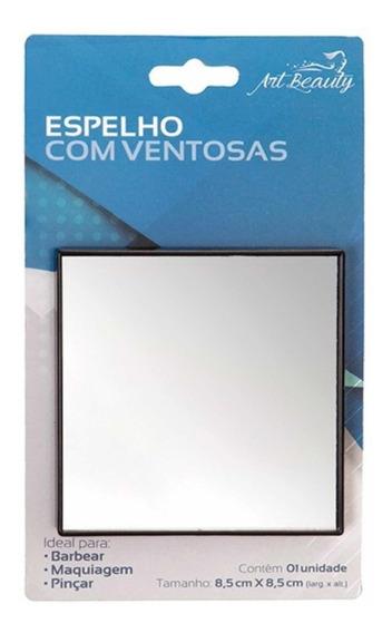 Espelho Para Fazer Barba No Banho Ventosa Prende No Box