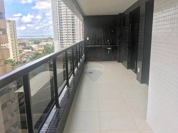 Apartamento 3 Dormitórios, 104 M² - Batista Campos - Belém/pa - Ap0496