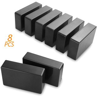 8 Pcs Project Boxes Small Plastic Waterproof Junction Case,