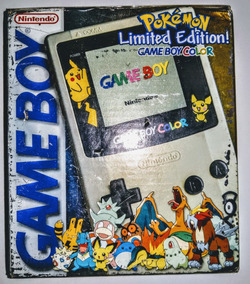 Game Boy Color - Game Boy Color Edition Pokémon Completo