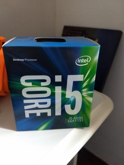 Intel Core I5 6600 + Placa Mãe H110m-h