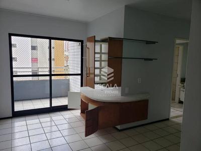 Apartamento Com 2 Quartos À Venda, 67 M², 2 Banheiros, 2 Vagas - Meireles - Fortaleza/ce - Ap1670