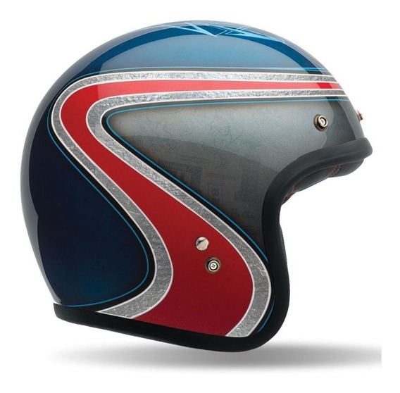 Capacete Bell Custom 500 Airtrix Heritage - Moto Café Racer