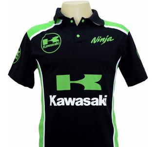Kit Com 06 Camisetas Kawasaki Ou Qualquer Modelo