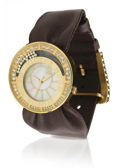 Relógio Feminino Victor Hugo 10110lsg-54