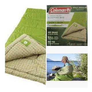 Saco De Dormir Acampamento Camping Coleman